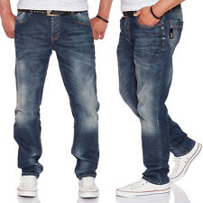 CIPO & BAXX Herren Straight Fit Jeans CD186A