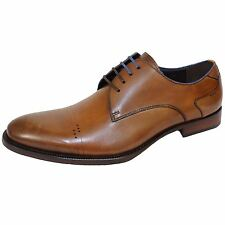 AZOR SALERMO MENS BROWN LEATHER SHOES