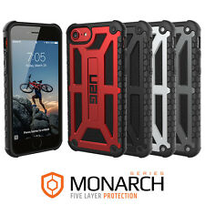 Urban Armor Gear (UAG) iPhone 8/7/6s Monarch Feather-Light Rugged Case Cover NEW