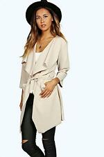 Boohoo Womens Eloise Belted Duster