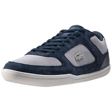 Lacoste Court-minimal 217 1 Mens Trainers Navy Grey New Shoes