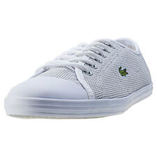 Lacoste Ziane Sneaker 117 Womens Trainers Light Grey New Shoes