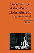 Madama Butterfly /Madame Butterfly Giacomo Puccini