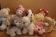 CUDDLES TIME & CARD FACTORY COLLECTION PLUSH TOYS  MULTI LISTING YOU CHOOSE