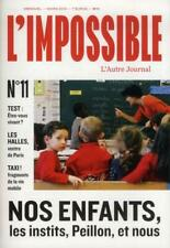 L'Impossible N.11 L'Impossible Neuf Livre