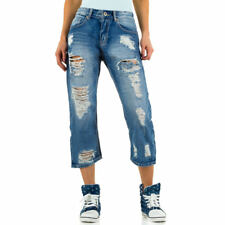 MOZZAAR DESTROYED BOYFRIEND DAMENJEANS Blau 3406 0€