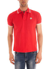 Polo MONCLER Polo Chemise % HOMME Rouge 830430084093-413