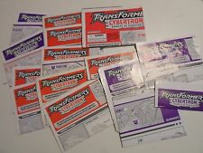 Transformers Cybertron 2005 Action Figure Parts Instructions Books Catalogs