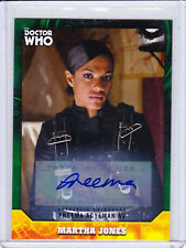 Doctor Who Signature Series Trading Cards Green Parallel Autograph Selection