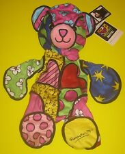 New UNSTUFFED Build-A-Bear ROMERO BRITTO BEAR 13 in Plush