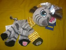 New Build-A-Bear UNSTUFFED 15in MY LITTLE PONY ZECORA ZEBRA Plush