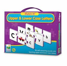 The Learning Journey Match It! Upper And Lower Case Letters