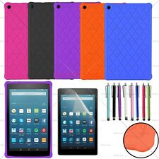 """Kiddie Shock Proof Silicone Case Cover For Amazon Fire HD 8 8"""" Tablet 2018/2017"""