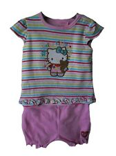 Hello Kitty Baby Girl Clothes Sets . Outfit 0-3 months BNWT