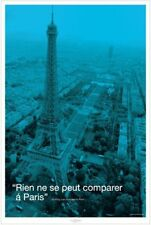 New Nothing can compare to Paris Eiffel Tower Poster