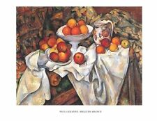 New Still life with Apples and Oranges Paul Cezanne Print