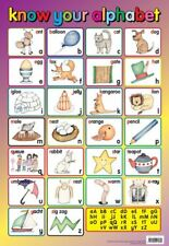 New Know Your Alphabet Educational Children's Chart Mini Poster