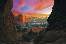 New Utah Canyon Scenic Photography Poster