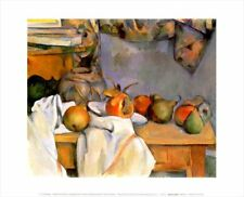 New Ginger Pot with Pomegranate and Pears Paul Cezanne Mini Print