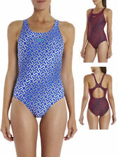 Speedo Allover Muscleback Training Fitness Swimsuit Swimming Costume