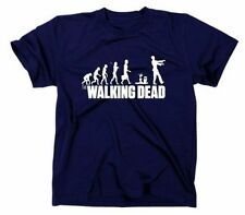 The Walking Dead Evolution Camiseta Divertida,Zombi Something Somewhere