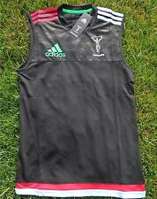 HARLEQUINS FOOTBALL CLUB RUGBY Maillot Jersey Adidas Hommes/Homme Tailles XS-XXL