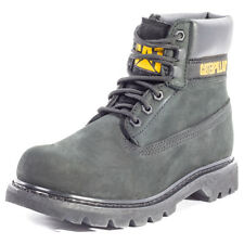 Caterpillar Colorado Womens Black Nubuck Casual Boots Lace-up Genuine Shoes