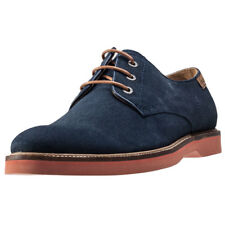 Lacoste Sherbrook 14 Mens Blue Suede Casual Shoes Lace-up Genuine Shoes