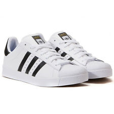 Adidas Originals Superstar ADV Vulc Trainers Shoes Trainers White New