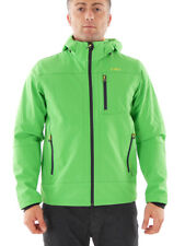 CMP Giacca Softshell Giacca Outdoor Giacca tecnica verde WP 7.000mm cappuccio