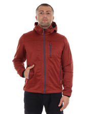 CMP Giacca Softshell Giacca Outdoor Giacca tecnica ROSSO WP 7.000mm cappuccio