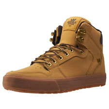 Supra Vaider Cw Water Repellent Mens Brown Nubuck Casual Trainers Lace-up