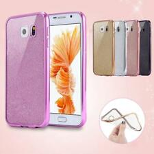 GIOIELLI GLITTER anti-urto silicone custodia in gel tpu cover per Samsung Galaxy