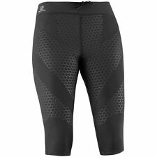 Salomon Exo 3/4 Tight Damen Laufhose schwarz