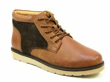 MENS OFFICE CHERRYWOOD BROWN NUBUCK SUEDE SMART CASUAL ANKLE BOOTS SIZES 7-12