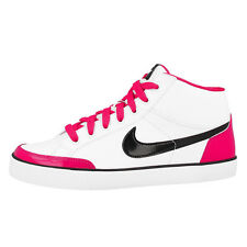NIKE CAPRI 3 MID LEATHER GS SCHUHE SNEAKER WHITE PINK 580411-102 FLASH FLYCLAVE