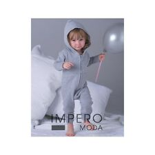 Tuta intera Baby Tuta All-in-One con cappuccio bimbo bimba neonato 025.47