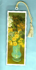 Bookmark Night Cafe Terrace Paris Vincent Van Gogh Flowers Print Painting Gift