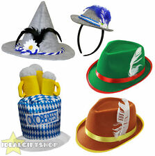 BAVARIAN HATS OKTOBERFEST THEMED QUALITY GERMAN BEER FESTIVAL CHOOSE HAT