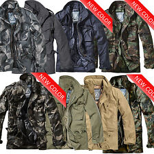 Brandit M65 2in1 Giacca Uomo Giacca invernale Parka ARMY MILITARE Bundeswehr