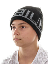 O`Neill Beanie Knitted Cap Ski Cap Big Logo Black Padded Fleece