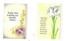 Bookmark Today God Think St Francis of Assisi Prayer Card Christian Jesus Gifts