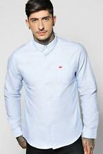 Boohoo Chemise Oxford Manches Longues pour Homme