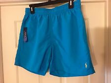 RALPH LAUREN POLO TURQUOISE SWIM SHORTS BRAND NEW WITH TAGS