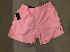 RALPH LAUREN POLO PINK SWIM SHORTS BRAND NEW WITH TAGS