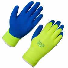 12 x Pairs Work Gloves Industrial Cold Store Freezer Safety Thermal Grip EN388