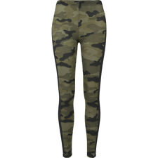 Ladies Camo Stripe Leggings Urban Classics Streetwear Pantalone Donna
