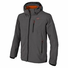 CMP Giacca Softshell Giacca Outdoor Giacca tecnica grigio WP 7.000mm cappuccio
