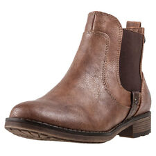 Mustang Ankle Boot Mujeres Botas Chlesea Chestnut nuevo Zapatos