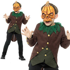 Goosebumps Jack O Lantern Costume Boys Childrens Halloween Fancy Dress Outfit